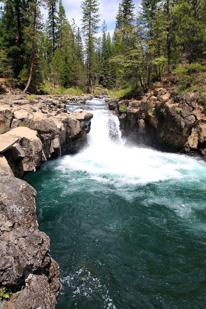 First McCloud falls. #california #travel #photography #hiking #bucketlist #food #roadtrip #travelblog #adventure