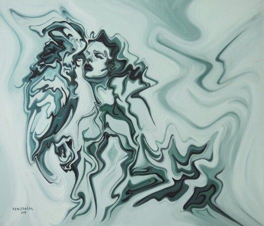 Tuval üzerine yağlı boya ( oil on canvas 120 x 140 cm,repeat  again