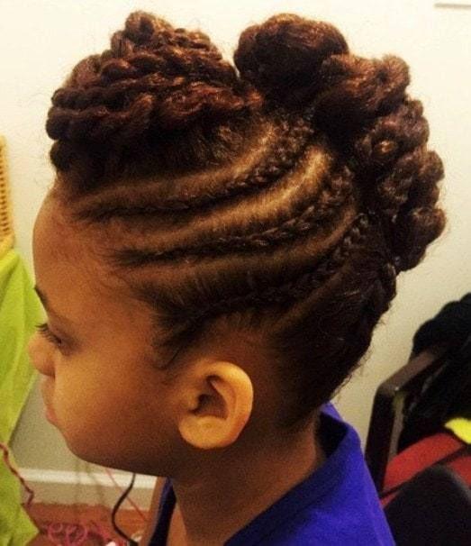 20 freche Frisuren für kleine Mädchen