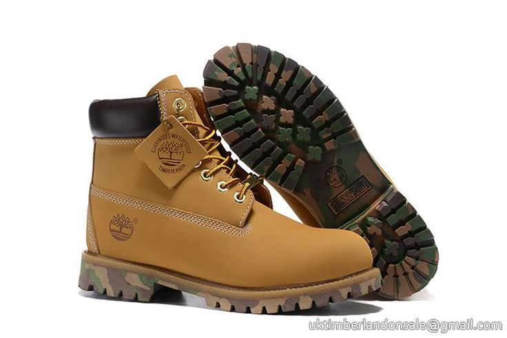 Timberland For Women's 6-Inch Premium Waterproof Wheat Black Camo Boots $ 80.00