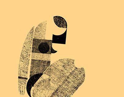 """Illusration, figure, body """"Geometry"""" http://be.net/gallery/48611489/Geometry"""