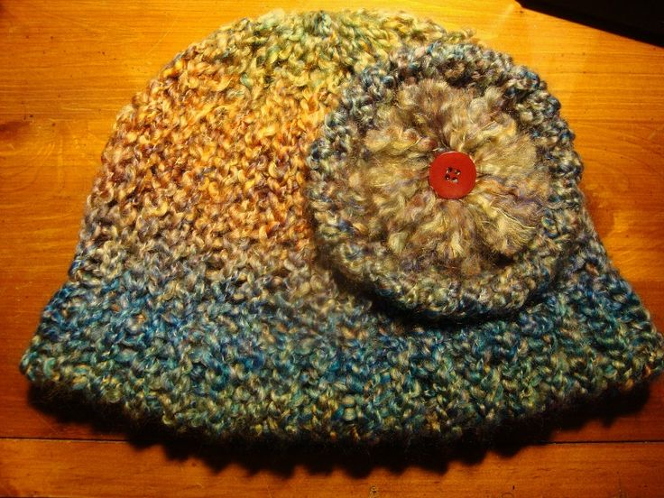 Loom Knitting Beanie Patterns : Loom Knitted Beanie Loom knitting Pinterest Loom, Hats and Watches