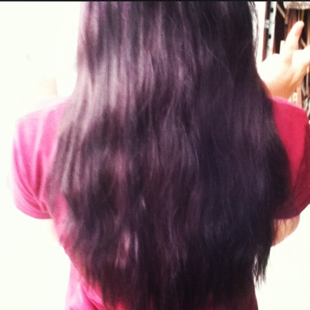 Dark dark brown with red?  Makes black with purple. Fantastic.  Loooove it<3Dark Brown, Dark Dark
