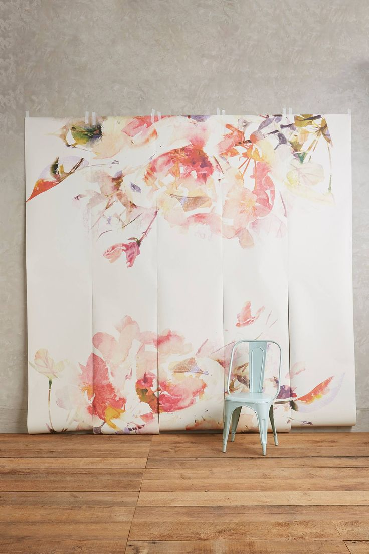 10 best images about cool stuff to buy on pinterest for Anthropologie mural wallpaper