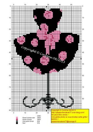 femme - woman - robe - Point de croix - cross stitch - Blog : http://broderiemimie44.canalblog.com/