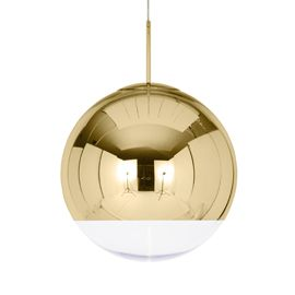 Tom Dixon Gold Mirror Ball Pendant | Pendants | Lighting | Heal's