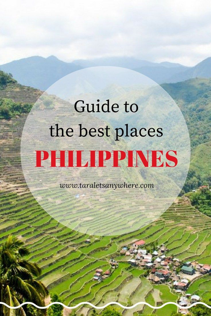 List of the best places to visit in the Philippines | Philippines tourist attractions | Beautiful places in the Philippines | Best tourist spots in the Philippines