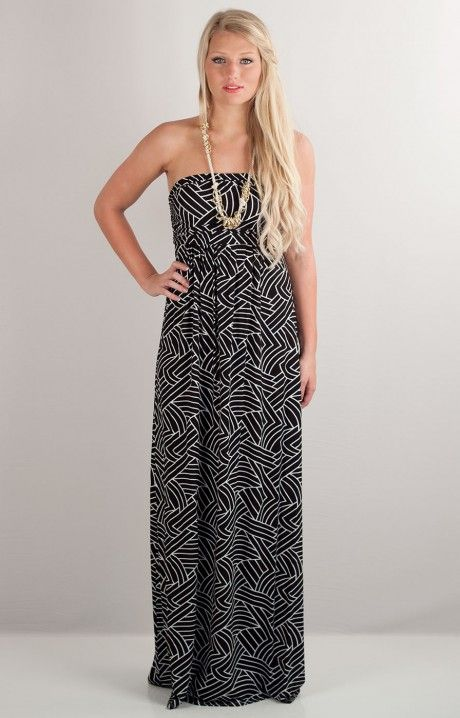 Hourglass lilly maxi dress
