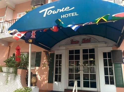 Towne Hotel Nassau Towne Hotel is located in downtown Nassau. This pet-friendly property offers free WiFi. The air-conditioned rooms here will provide you with a cable TV and a seating area. They also include a private bathroom with a shower and toilet.