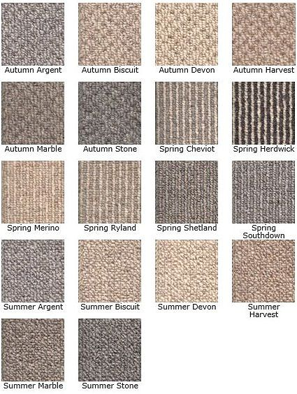 KINGSMEAD BERBER SEASONS 100% Wool loop carpet available in 4 & 5m Widths
