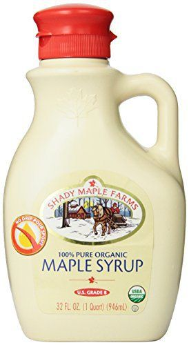 Shady Maple Farms Organic Maple Syrup, Grade B, 32 Ounce - http://goodvibeorganics.com/shady-maple-farms-organic-maple-syrup-grade-b-32-ounce/