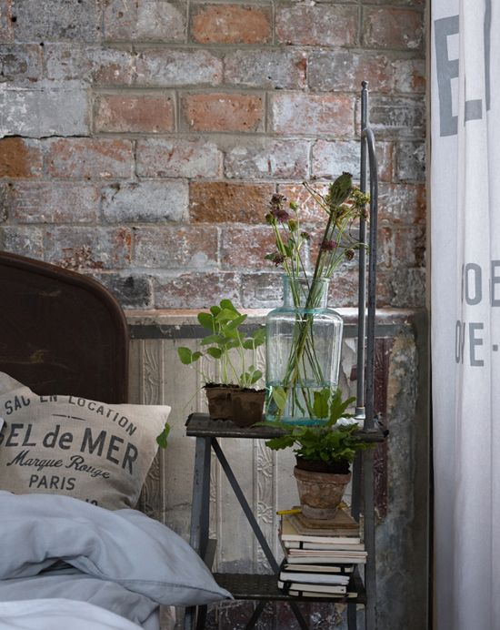 24 best faux brick floors images on pinterest brick flooring fake brick and faux brick. Black Bedroom Furniture Sets. Home Design Ideas