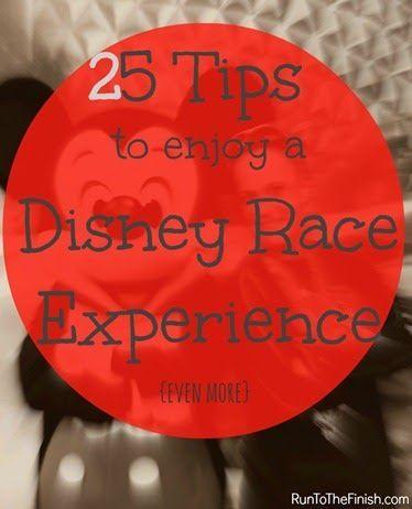 25 tips to help improve your runDisney experiences