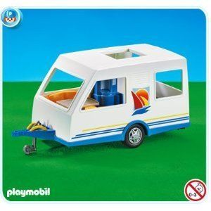 Playmobil Camping Trailer (Caravan) by Playmobil. $25.99. This item is part of the Direct Service range. This range of products are intended as accessories for or additions to existing Playmobil sets. For this reason these items come in clear plastic bags or brown cardboard boxes instead of a colorful retail box.. Please Note: This item is part of the Direct Service range. This particular range of products are intended as accessories and / or additions to existing ...