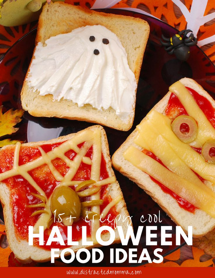 Over 15 creative and creepy Halloween food ideas for your kiddos!