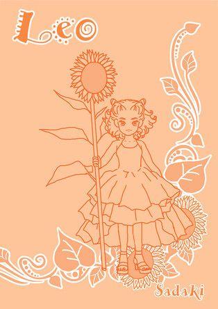 12星座☆獅子座ガール☆