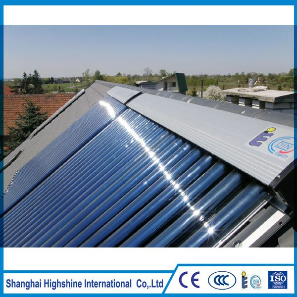 2017 hot sale glass pipe solar collector heat