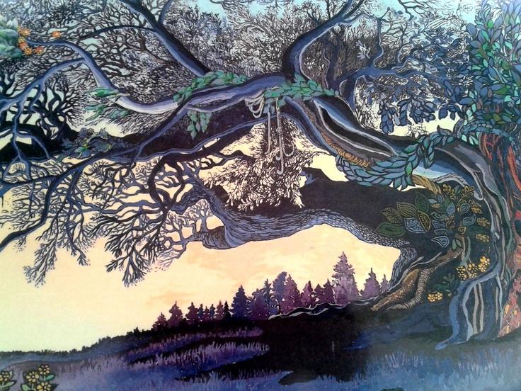 Love this tree by artist Bengt Elde