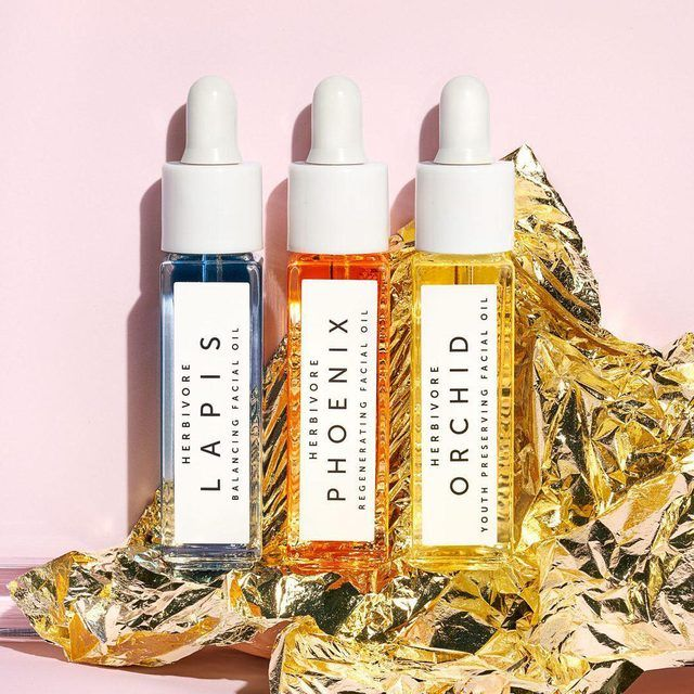Mini Facial Oil Trio Herbivore Botanicals Oil Trio Faceoil