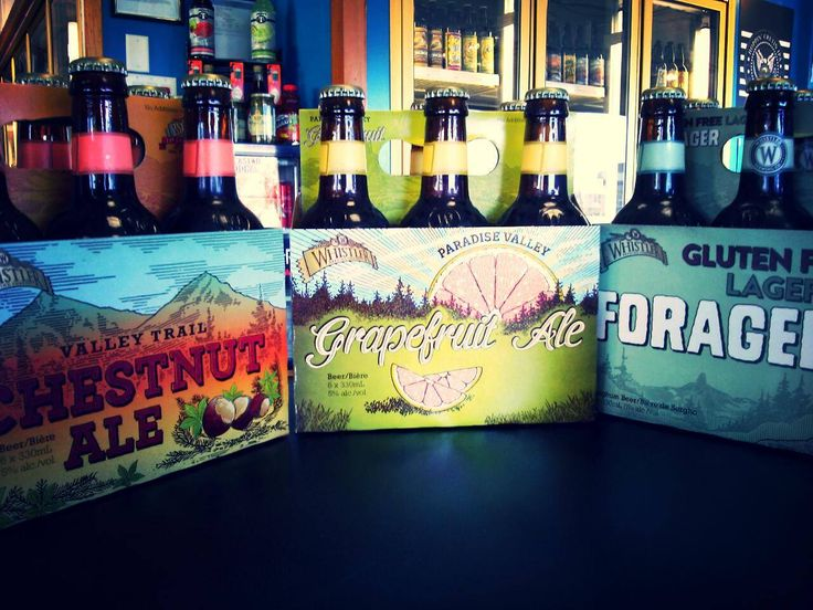 Happy Tuesday! This week we'd like to feature our ever growing section from Whistler Brewing! Perfect for all seasons!