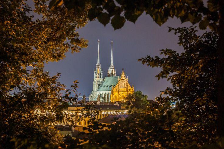 Brno by night