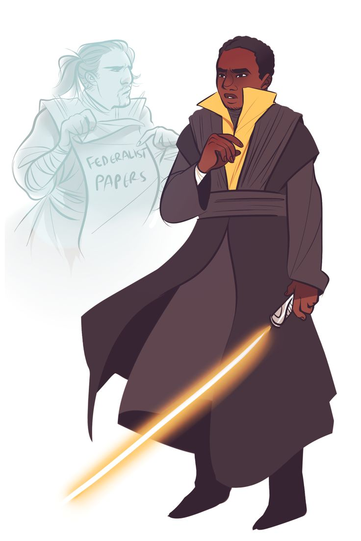 James Madison // Hamilton x Star Wars by 0tterp0p on Tumblr CORRECTION: This one was INSPIRED by 0tterp0p's art.