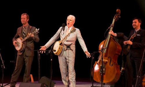 Steve Martin & The Steep Canyon Rangers at Robinson Auditorium June 20, 2012.