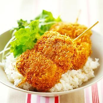 牛肉とねぎの串カツ丼 | 重野佐和子さんのフライの料理レシピ | プロの簡単料理レシピはレタスクラブニュース