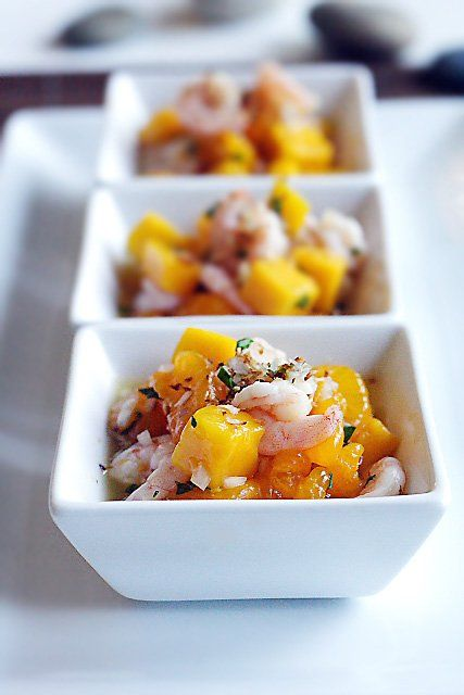 Fruit Salad Recipe (with Baby Shrimps And Toasted Coconut) Recipes ...