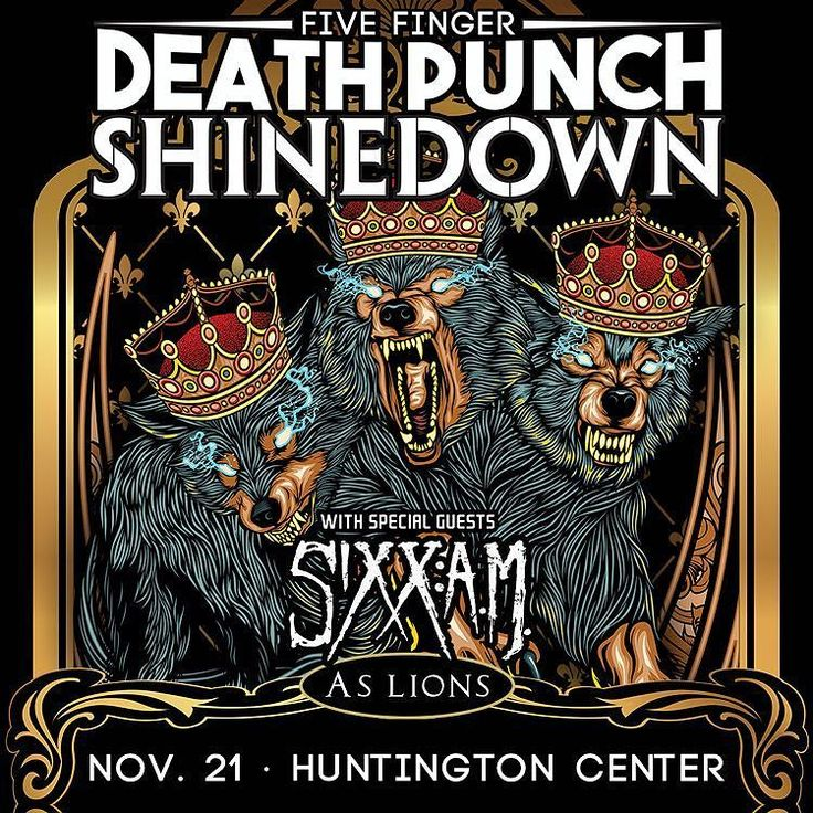 Toledo OH! @Shinedown @5fdp @SixxAM & As Lions Nov. 21st at The Huntington Center! (via @1007TheZone)  Show info here: http://www.toledoszone.com/2016/08/15/five-finger-death-punch-huntington-center/