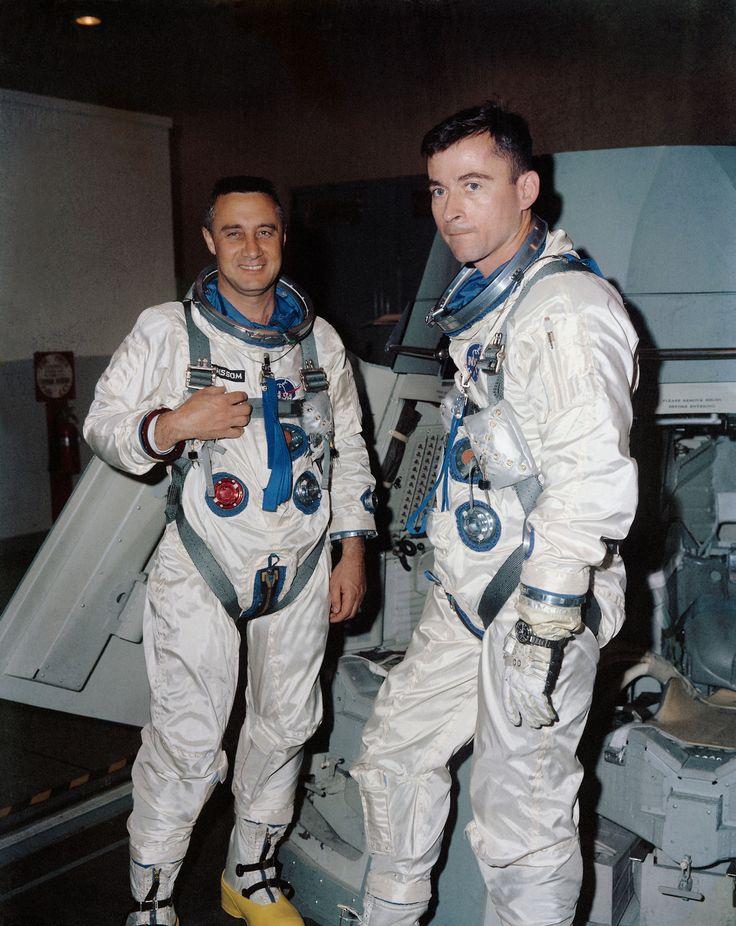 Gus Grissom and John Young - Gemini III