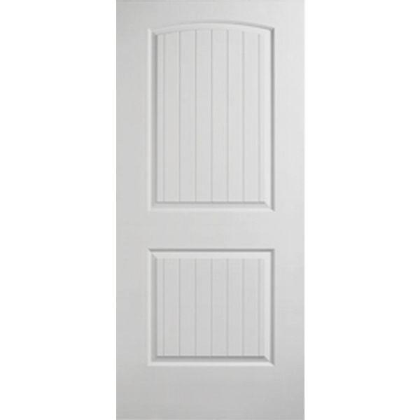 Prehung Fire Rated Santa Fe 2 Panel Arch Top Door Types Of Doors Prehung Doors Doors