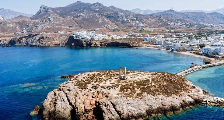 Η Πορτάρα, Η Πόρτα Του Αιγαίου Στην Νάξο Portara, The Door Of Aegean In Naxos