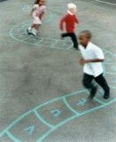 Cheap and Easy: Sidewalk Chalk Games for Kids