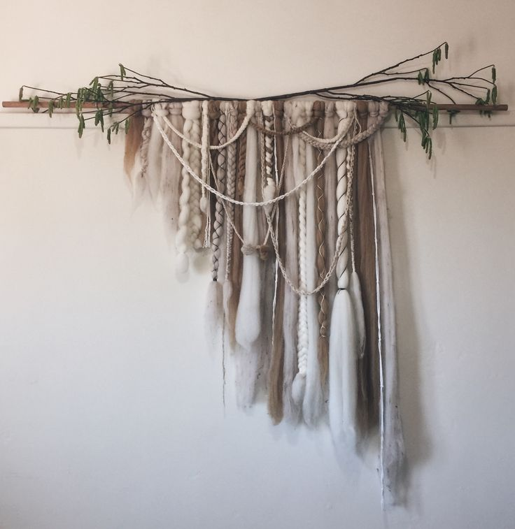 Hand woven hanging By Elke's Room
