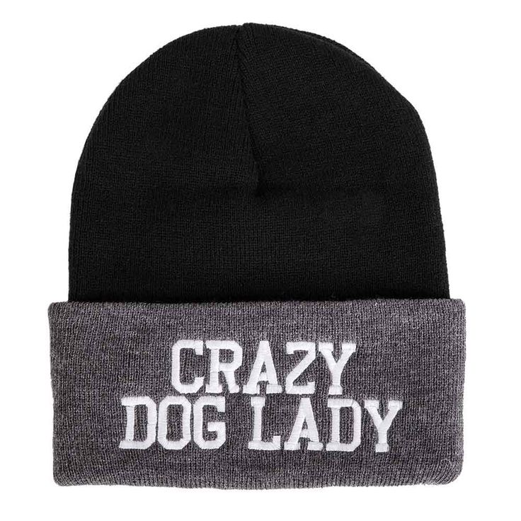 'Crazy Dog Lady' Beanie from Animal Hearted Apparel