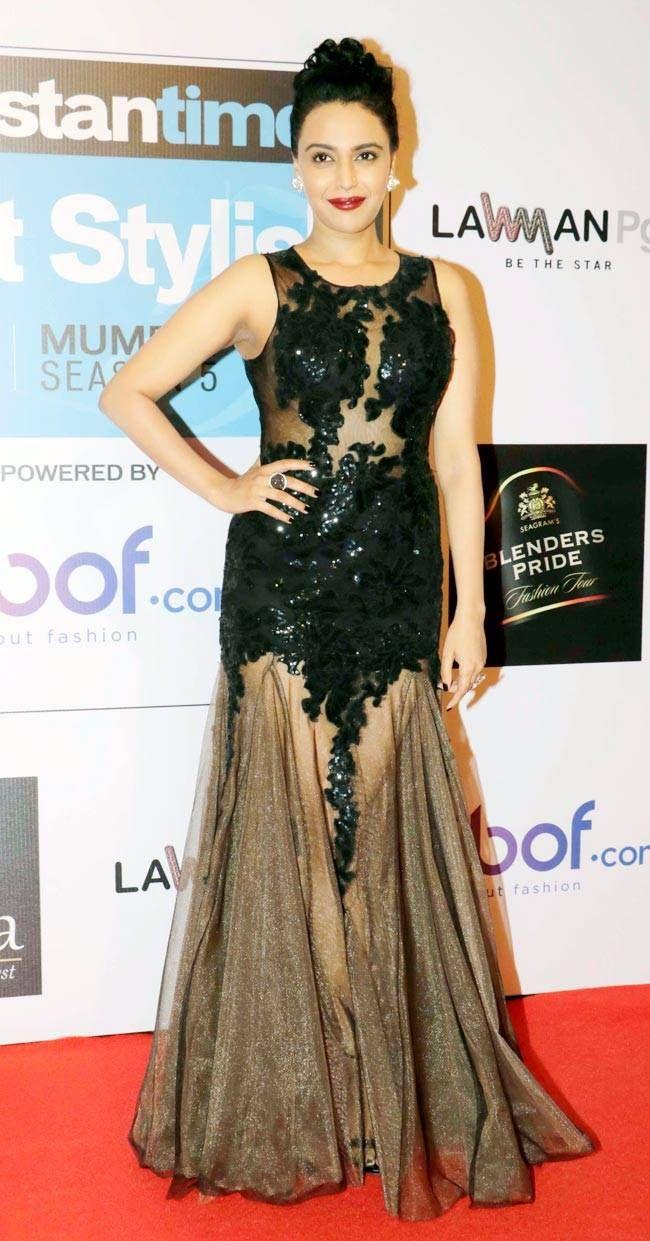 Swara Bhaskar at Hindustan Times Most Stylish Awards 2016. #Bollywood #Fashion #Style #Beauty #Hot