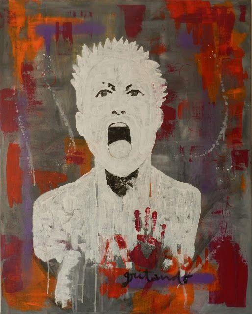Cuadro Alison gritando Acrílico sobre lienzo 80*60 cm Mónica Jiménez  Alison Lapper es un ejemplo de superación, ella nos enseña que nada es imposible si nos lo proponemos.  Para que la conozcáis:  https://www.elpensante.com/alison-lapper-una-historia-de-superacion-personal/