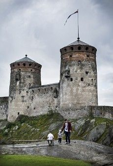 Olavinlinna, the main stage of annual Savonlinna Opera Festivals, is the northernmost medieval stone fortress still standing. Olavinlinna is open year round