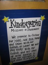 Our Mission - Beaumont Elementary, A Leader in Me School.  Great idea Andrea.