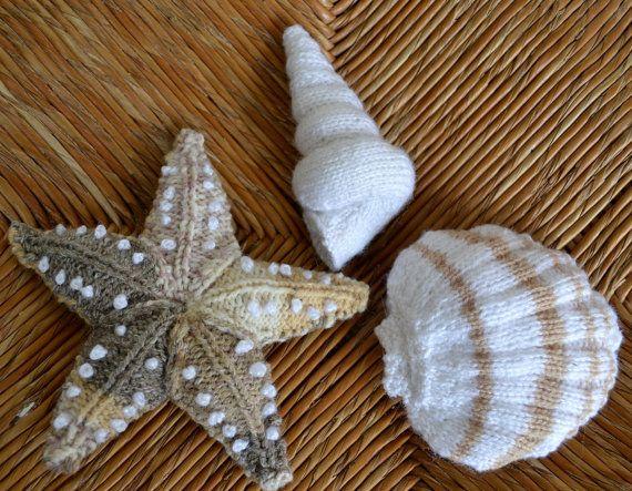 Knitted Starfish Pattern : Starfish Knitting Pattern