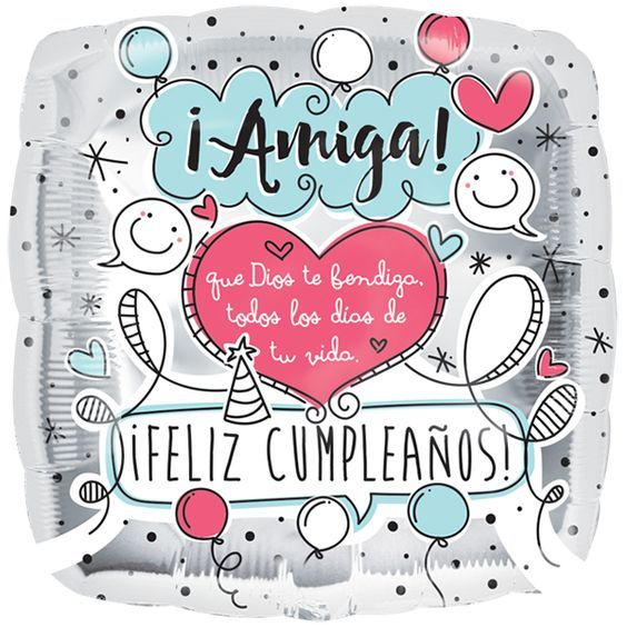"Cumpleaños : Cumple Amiga 18"""