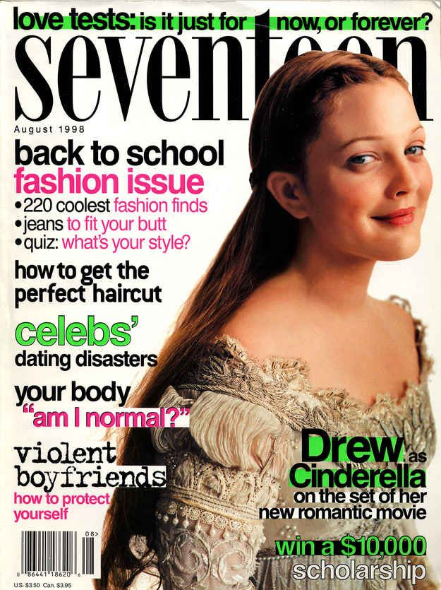 Seventeen Magazine Covers That Immortalized 1998 In Pop ...