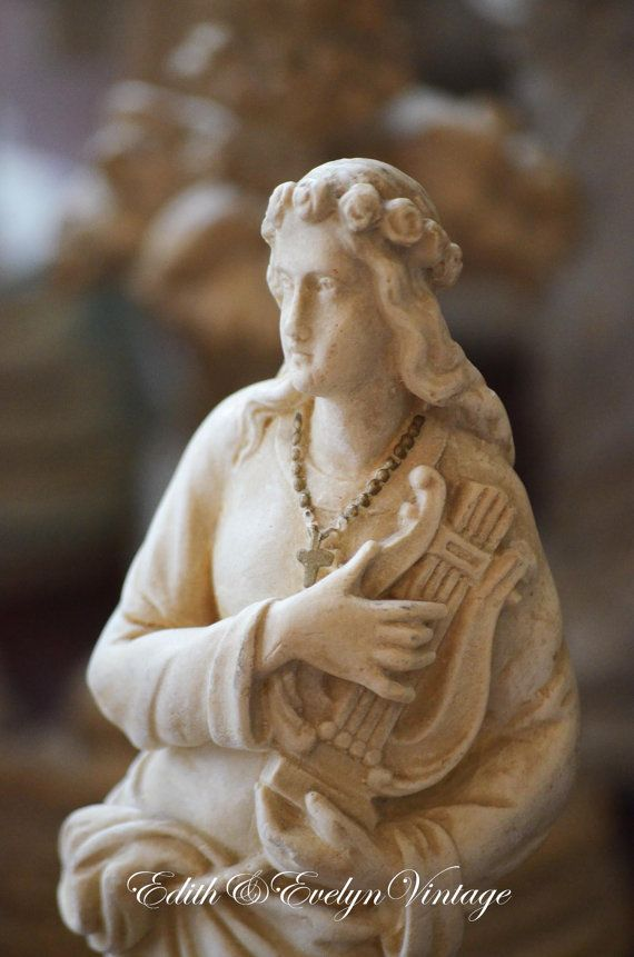 17 Best Images About Vintage Statuary On Pinterest