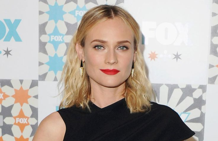 Diane Kruger   Red lipstick   Must-have beauty products