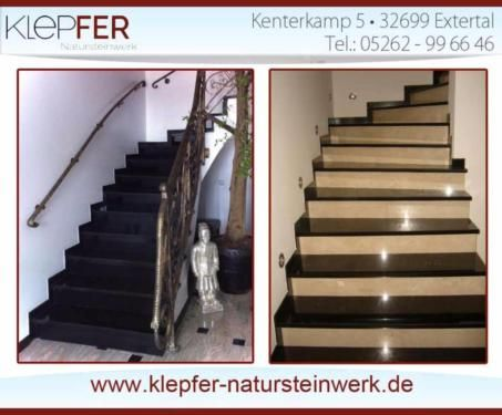 88 besten granittreppen bilder auf pinterest treppe fliesen freitragende treppe und treppenstufen. Black Bedroom Furniture Sets. Home Design Ideas