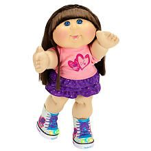 Cabbage Patch Kids - Twinkle Toes - Caucasian Girl with Brown Hair and Blue Eyes