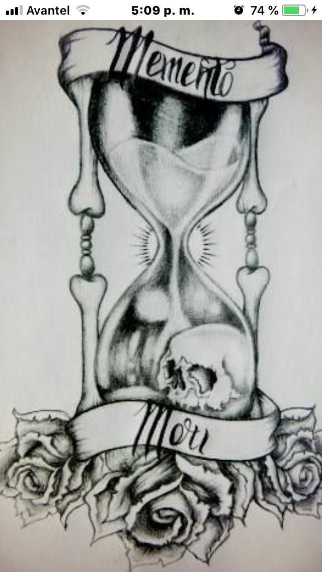 Pin De Kevin Orozco Martinez En Tatto Reloj De Arena Tatuaje