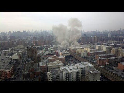 East Harlem building explosion New York