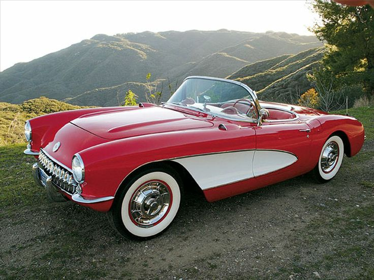 1957 Corvette...I wanted one of these so bad I could taste...but that was cured when I checked into the cost to insurance it.